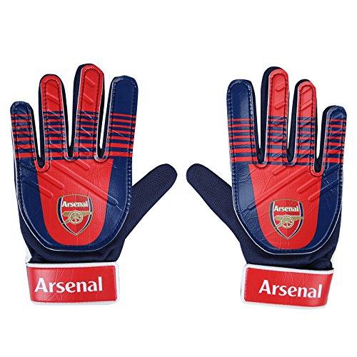Arsenal FC - Torwarthandschuhe für Kinder/Jugendliche - Offizielles Merchandise - Geschenk für Fußballfans - Jungen: 5-10Jahre