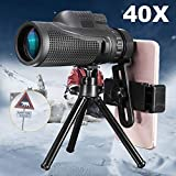 40X Zoom Monocular Mobile Phone Telescope Lense 40X60 for Iphone Huawei Xiaomi Smartphones