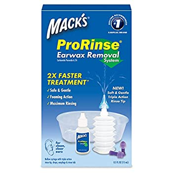 Mack s ProRinse Earwax Removal System - 1 Each Pack of 3