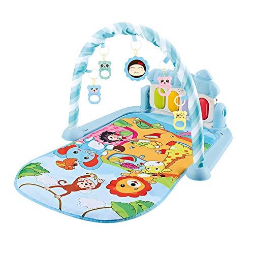 Gimnasio Para Bebés Manta De Juego Bebé Alfombra De Juego De Actividad Musical Para Niños Pequeños Con Juguetes Colgantes
