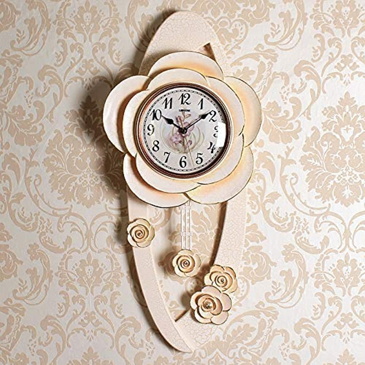 相手部分的に暴露Jundonglilai スタイリッシュな大胆な古典的なクォーツ大壁時計非刻々としたサイレント壁時計創造的な寝室のリビングルームモダンなクォーツ時計
