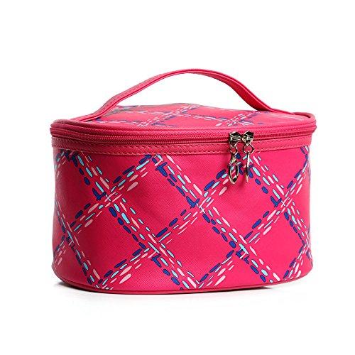 Mode Grande capacité Portable Multi fonctionnelle Trousse cosmétique support de sac Organiseur de sac à main avec miroir