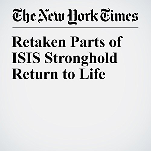 Retaken Parts of ISIS Stronghold Return to Life copertina