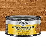 LIBERON Cire antiquaire Black Bison® en pâte Chêne moyen, 500cc