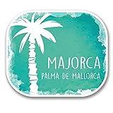 2x Mallorca Palma España vinilo adhesivo de vinilo para portátil de viaje equipaje coche iPad Sign Fun # 6329