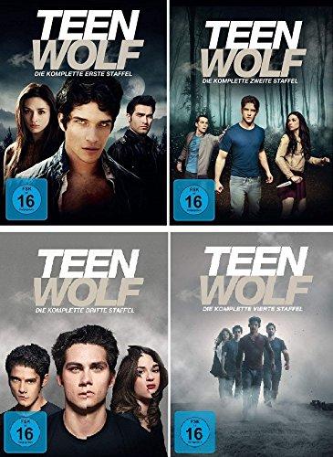 Teen Wolf - Die komplette Staffel 1+2+3+4 im Set - Deutsche Originalware [19 DVDs]
