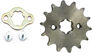 DSparts 14T Teeth 20mm 428 Chain Front Sprocket Cog Fit for 110cc 125cc 140cc Motorcycle ATV Dirt Pit Bike Thumpstar