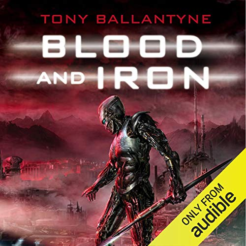 Blood and Iron audiobook cover art