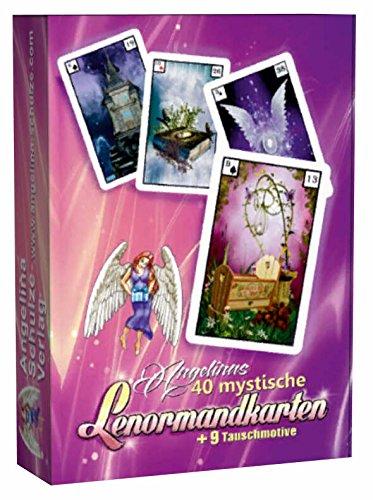 Angelinas 40 mystische Lenormandkarten + 9 Tauschmotive (2. Neuauflage)