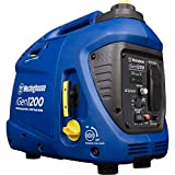 Westinghouse iGen1200 Super Quiet Portable Inverter Generator 1000 Rated 1200 Peak Watts, Gas Powered, CARB Compliant