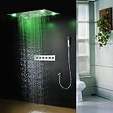 Gowe Multifunction LED Ceiling Shower Set