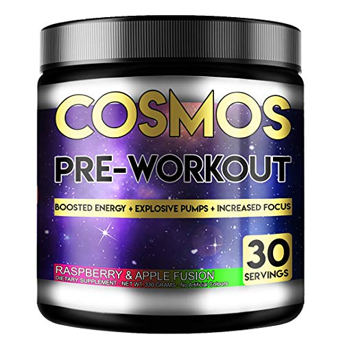 Perihelion Nutrition Cosmos Pre-Workout Energy 330grams (30 Servings) Caffeine + Creatine + Beta Alanine (Raspberry & Apple)