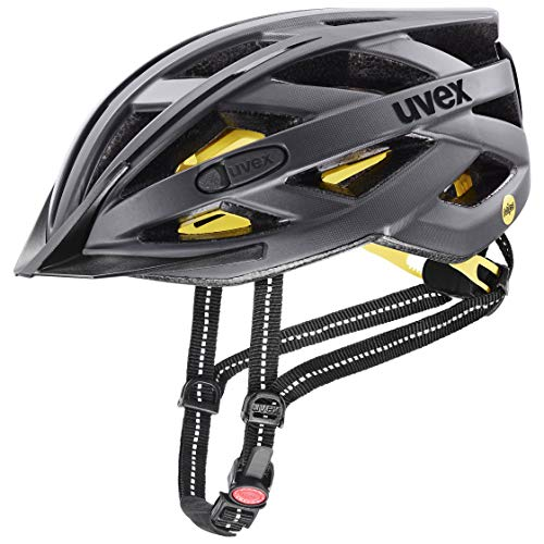 uvex Unisex– Erwachsene City i-vo MIPS Fahrradhelm, titan mat, 56-60 cm