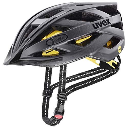 uvex Unisex– Erwachsene City i-vo MIPS Fahrradhelm, Titan mat, 52-57 cm