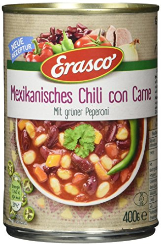 Erasco Chili con Carne, 3er Pack (3 x 400 g)