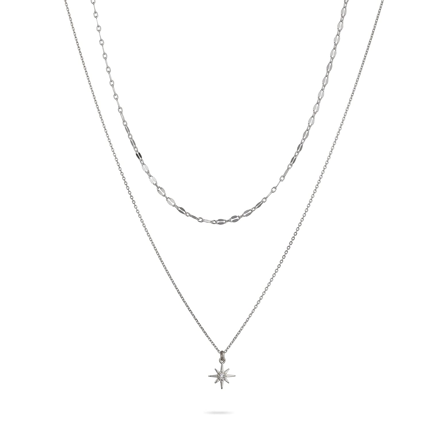 Annikabella Set Of 2 Silver including Max 52% Choice OFF For Necklaces Choker Women