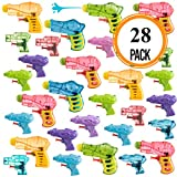 Pack of 28 Assorted Water Guns Pool Water Shooters and Water Blasters Combo Set of Water Squirt Toy