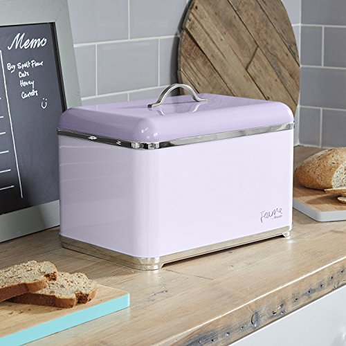 Swan Bread Bin - Lily Purple
