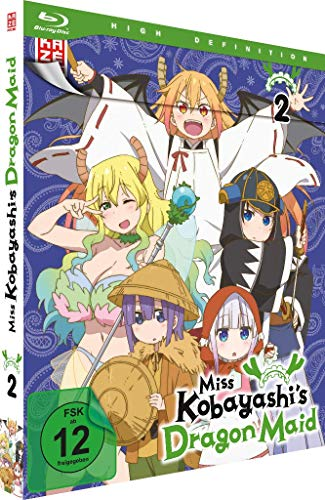 Miss Kobayashi's Dragon Maid - Vol. 2 - [Blu-ray]