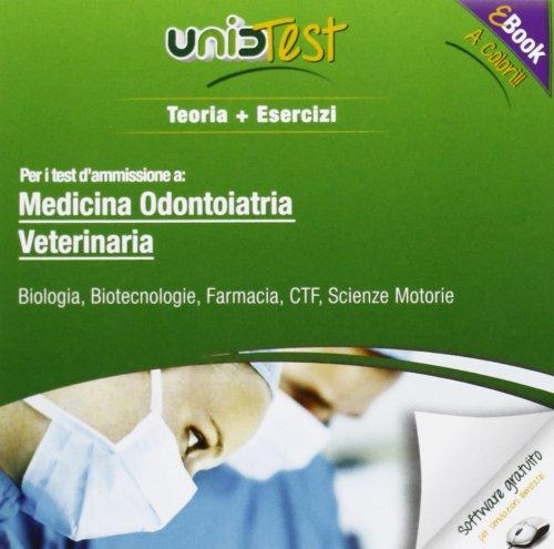 UnidTest 1. Manuale di teoria-Eserciziario per medicina, odontoiatria e veterinaria. Manuale di teoria per i test di ammissione... Con software di simulazione