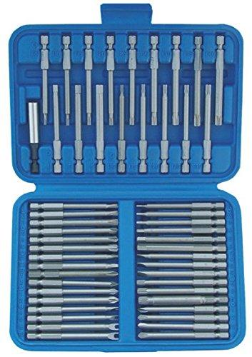 SW-Stahl Universal Bitsatz 50-teilig extra lange Ausführung, 1/4 Standard und Spezialbits, 04145L