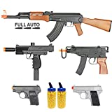 Best Electric Air Soft Guns - BBTac Airsoft Gun Package - Guerilla Collection of Review