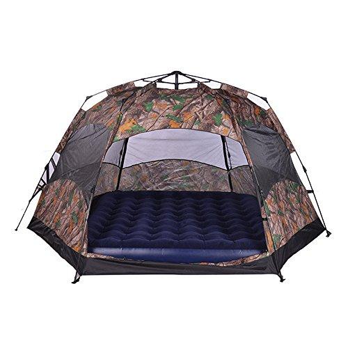 HONEYY Full-Automatique Tente Tente de Camping télescopique Actifs de Construire 6-8 Double Can 260 * 260 * 190cm Tente