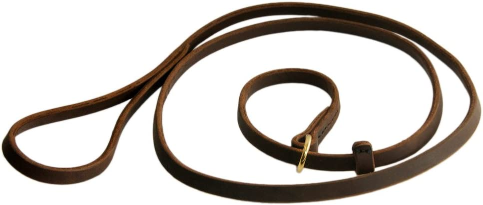 Dean and Tyler 2-in-1 DT Slip Leash by Wi 1 SALENEW very popular! 4-Feet 2-Inch Brown New Orleans Mall