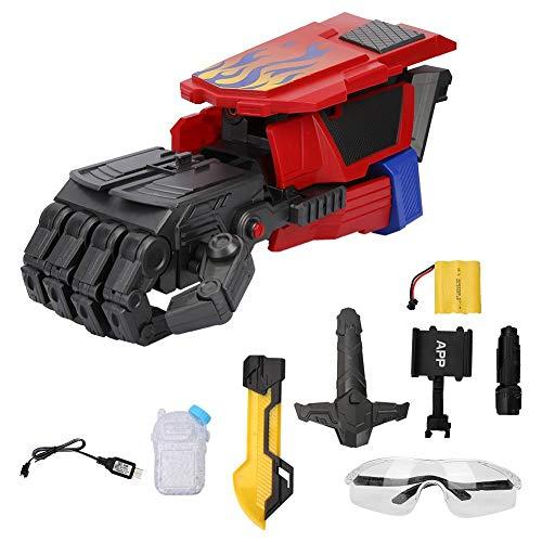 Tbest Pistolas de Agua, Pistolas de Agua Inteligentes para niños Brazo robótico Pistolas de Agua eléctricas Pistolas de Juguete para niños