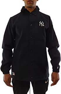 Chaqueta MLB York Yankees Team Apparel Coaches Azul/Blanco Talla: L (Large)