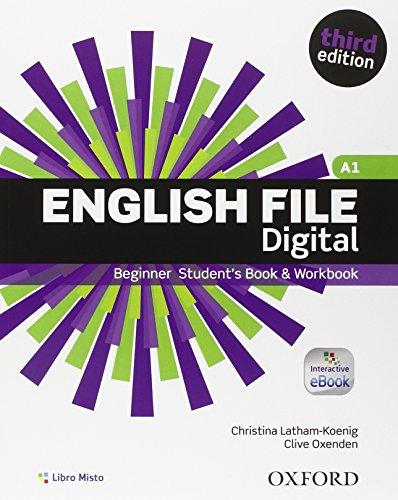 English file digital. Beginner. Student book-Workbook. Without key. Per le Scuole superiori. Con e-book. Con espansione online