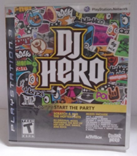 PS3 PLAYSTATION 3 DJ HERO - COMIENZA LA FIESTA