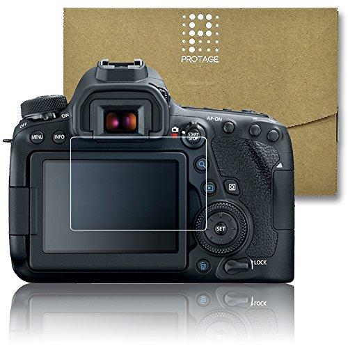 PROTAGE Canon EOS 6D Mark2 用 ガラスフィルム ガラス 製 フィルム 液晶保護フィルム 保護フィルム 液晶プロテクター キャノン イオス 6dマーク2