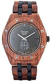 ✅ Fatto a mano in Canada | TENSE è realizzato esclusivamente a mano. Con la nostra esperienza dal 1971, siamo probabilmente il più antico produttore di orologi in legno al mondo ✅ Lunghezza molto facile da regolare | l'intera collezione TENSE dispone...