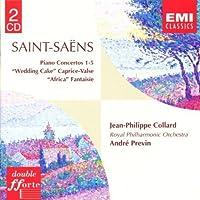 Piano Concertos 1-5 by C. Saint-Saens