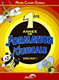 Gomila Marie-Claude 1Ere Annee De Formation Musicale Theory Bk French.