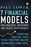 7 Financial Models for Analysts