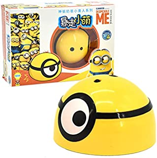 lzndeal Intelligent Escaping Toy Despicable Me Shape Infared Sensor Doll Toy Kids Gifts