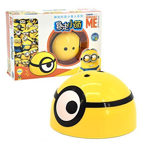JsJr-K-In Induktionsspielzeug, Intelligentes Fluchtspielzeug Despicable Me Form Infared Sensor Puppenspielzeug Kindergeschenke (Stil: Ohne Fernbedienung, Mit Fernbedienung)
