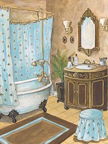 baobaowanjudian Rompecabezas Adultos 1000 Piezas Hermoso baño Puzzle Rompecabezas para Niños Juguete De Regalo Ideal 75×50cm