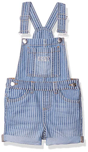 DKNY – Pantalones Cortos para niña, Raya Azul, 6
