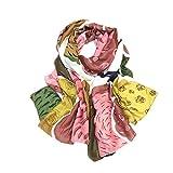 Bufandas caliente Bufanda Aire Acondicionado Chal Shawl Lady Shade Summer Shade Toalla De Playa (Color : Multi-colored)