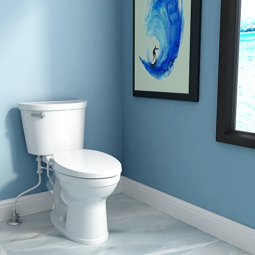 American Standard 5900A05G.020 Aqua Wash Non-Electric Bidet Seat for Elongated Toilets, 14.9 in Wide x 3.6 in Tall x 21.1 in Deep, White