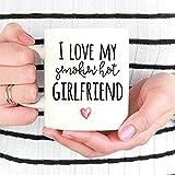 Tazza con scritta 'I Love My Smoking', idea regalo per fidanzato, San Valentino, anniversario