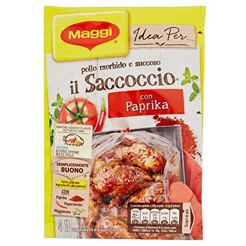 Maggi il Saccoccio con Paprika, Sacchetto e Spezie per Pollo al Forno, 1 Pezzo