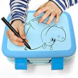Zulay Kids Bento Box - Durable & Professionally Designed Bento Box for Kids Leakproof - This Toddler...