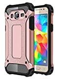 J2 Prime Case, Galaxy Grand Prime Plus Case, Torryka Premium Anti-scratch Dual Layer Shockproof Dustproof Armor Protective Case Cover for Samsung Galaxy J2 Prime/SM-G532 - Black