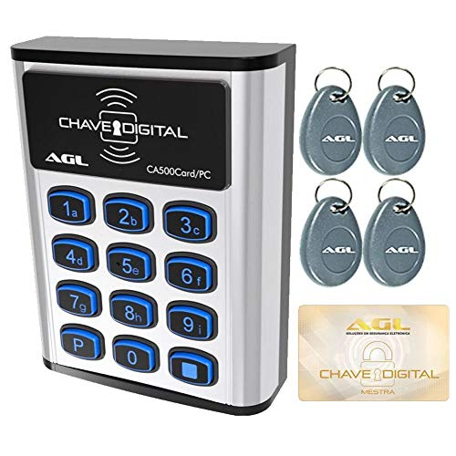 Controle De Acesso Digital Com Software CA500 Card/PC