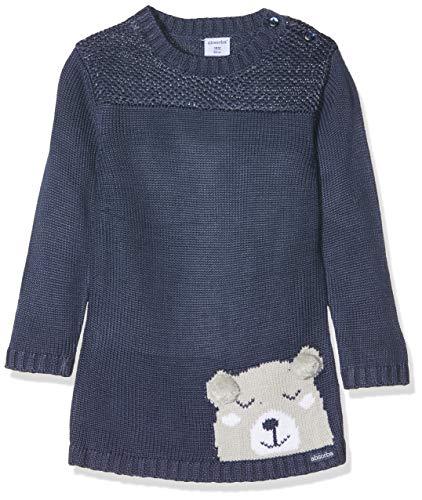 Absorba Baby-Mädchen 7p30091-ra Robe Tricot Kleid, Blau (Lagoon Blue 50), 18-24 Monate (Herstellergröße: 6M)