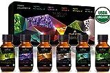 Stellar Naturals Organic USDA Aromatherapy Set of Lavender,...